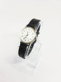 Classic White Dial 90s Timex Mechanical Watch for Women - Vintage Radar