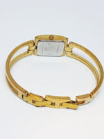 Tiny Square Gold-tone Relic Quartz Watch | Relic by Fossil Watches - Vintage Radar