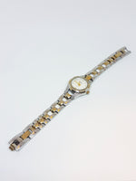 Luxury Two-tone Relic Quartz Watch | Analog Relic by Fossil Watches - Vintage Radar