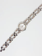 Cargue la imagen en el visor de la Galería, Minimalist Silver-tone Fossil Ladies Watch | Affordable Fossil Ladies Watches - Vintage Radar