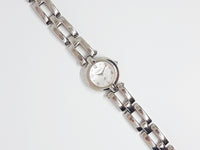 Minimalist Silver-tone Fossil Ladies Watch | Affordable Fossil Ladies Watches - Vintage Radar