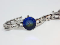 Blue Dial Fossil Ladies Watch | Tiny Luxury Fossil Watch for Women - Vintage Radar