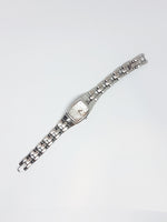 Stainless Steel Fossil Quartz Watch | Minimalist Silver-tone Fossil Watch - Vintage Radar