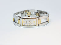 Square-Dial Stainless Steel Fossil Watch | Modern Luxury Women's Watch - Vintage Radar