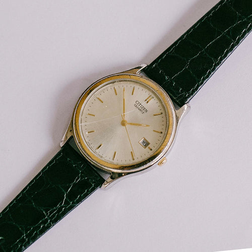 Rare Vintage Citizen Quartz Watch | Luxury Citizen Date Watch