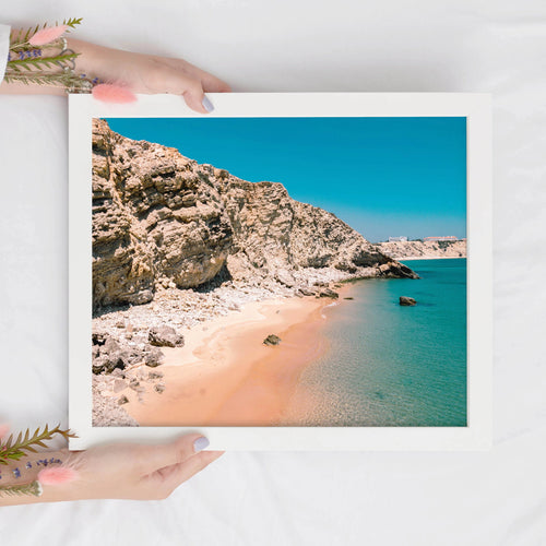 Tropical Beach Print | Algarve Digital Prints | Printable Wall Art - Vintage Radar
