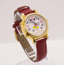 Load image into Gallery viewer, Vintage Lorus V422-0010 ZO Mickey Mouse Musical Watch
