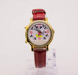 Vintage Lorus V422-0010 ZO Mickey Mouse Musical Watch