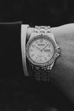 Silver-tone Benrus Dress Watch | BNW25419W Benrus Watch Unisex - Vintage Radar