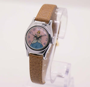 Vintage Cinderella Mechanical Watch | RARE Disney Memorabilia Watch