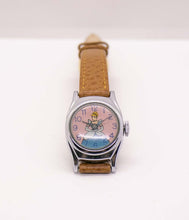 Load image into Gallery viewer, Vintage Cinderella Mechanical Watch | RARE Disney Memorabilia Watch