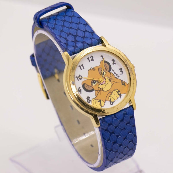 Vintage Lion King Simba Timex Watch - 90s Disney Baby Lion Watch