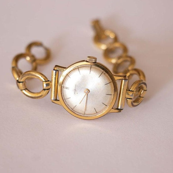 Vintage 20 Microns Gold-Plated Dugena Watch for Women | Tiny Wrist