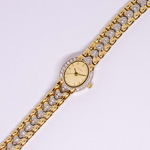 Luxury Gold-tone Elgin Watch for Women | Elegant Wedding Dress Watch - Vintage Radar