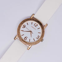 Rose-Gold Embassy by Gruen Quartz Watch | Minimalist Women's Watches - Vintage Radar
