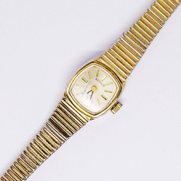 17 Jewels Benrus Mechanical Watch | Women's Gold-tone Benrus Watch - Vintage Radar