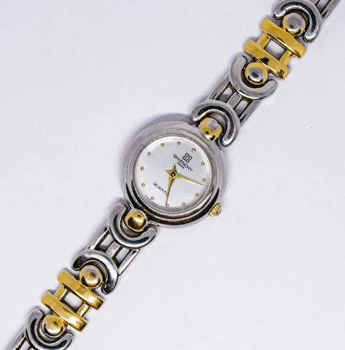 Givenchy Paris Quartz Watch | Luxury Silver-tone Women's Watch - Vintage Radar