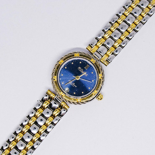 Blue Dial Dufonte Gold-tone Watch | Luxury Ladies Watch Collection