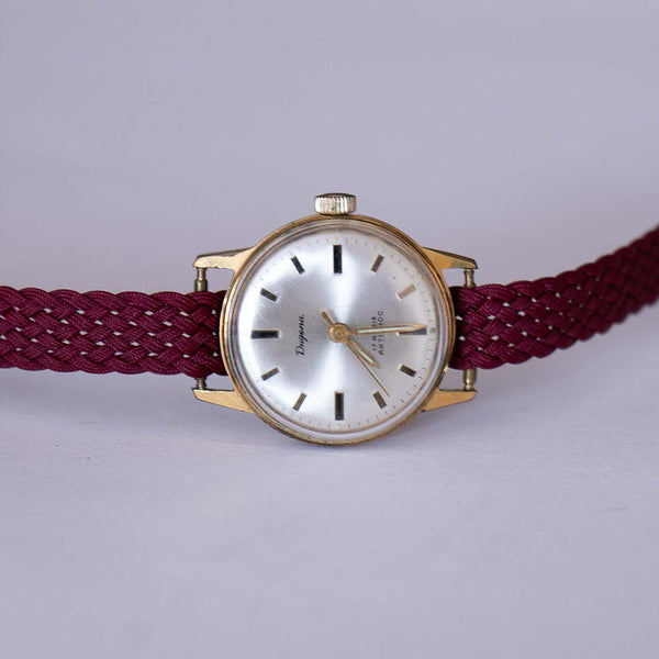 Dugena 17 Rubis Antichoc Watch - Vintage Minimalist German Ladies' Watch
