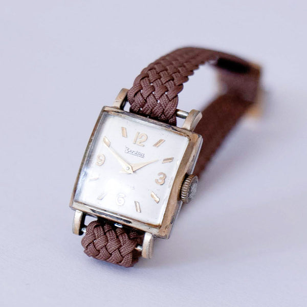 1960s Gold-plated Zentra Watch - Tiny Mechanical German Women's Watch