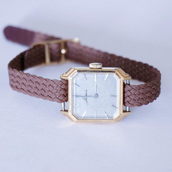 1960s Jasmin Vintage Watch - Tiny Gold-tone Elegant Women's Watch