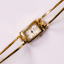 Load image into Gallery viewer, Tiny Square Gold-tone Relic Quartz Watch | Relic by Fossil Watches - Vintage Radar