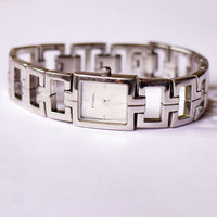 Modern Square Dial Fossil Watch Ladies | Fossil Watches for Women - Vintage Radar