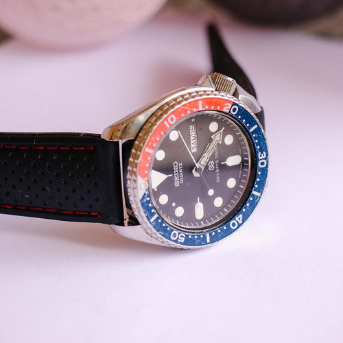 Seiko Pepsi Diver 7548-700B Watch | Seiko Sports Diver Watch For Men 150m - Vintage Radar