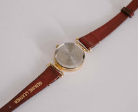 Small Womens Elegant Timex Watch | Gold Tone Ladies Timex Watch - Vintage Radar