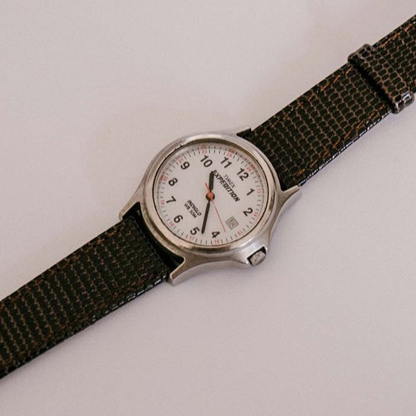 Timex Expedition Indiglo Date Watch | 90s Clásico Timex Watch WR 50M