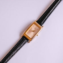 Load image into Gallery viewer, 1N00-5C99 Seiko Watch For Women | Square Rose Gold Seiko Watch - Vintage Radar