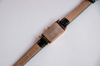 1N00-5C99 Seiko Watch For Women | Square Rose Gold Seiko Watch - Vintage Radar