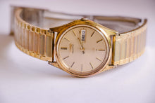 Load image into Gallery viewer, Gold-tone Seiko Vintage Watch for Men | 6923-7009 Seiko Watch Model