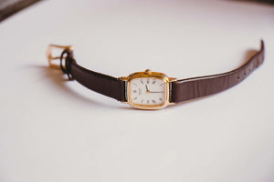 Vintage 2Y00-5B40 Seiko Watch | Gold-Tone Luxury Seiko Quartz Watch - Vintage Radar