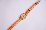 Vintage Ladies Seiko Watch | Delicate Gold-tone Seiko Quartz Watch - Vintage Radar