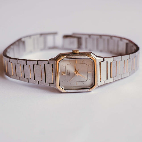 Vintage 1221-5060 Seiko Watch | Silver-tone Seiko Quartz Watch - Vintage Radar