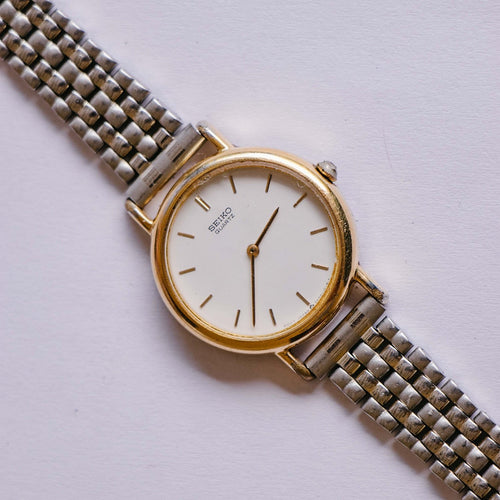 Vintage Gold-tone Seiko Quartz Watch | 2Y00-0A50 Seiko Women's Watch - Vintage Radar