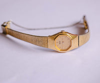 Gold-Tone Ladies 2Y00-5041 Seiko Watch | Elegant Quartz Watch For Women - Vintage Radar