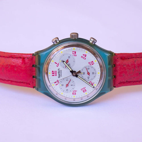 1991 JFK SCN103 Vintage Swatch Chronograph Watch | 90s سويسري Watch