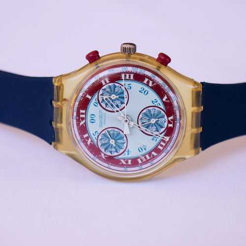 WINDMILL SCK103 Swatch Watch | 1992 Vintage Swatch Chronograph