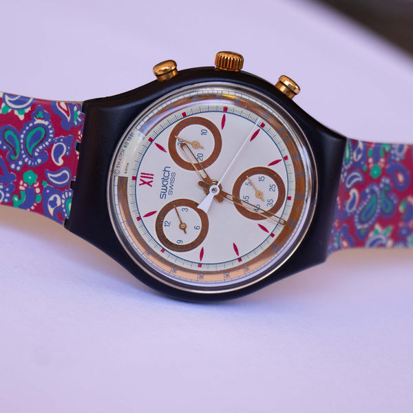 جائزة Swatch Watch Chrono SCB108 تسعينات | Vintage Swatch Watches