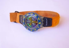 Load image into Gallery viewer, SLAMMA JAM SEN100 Scuba Swatch | Vintage Swiss Chronograph Watch