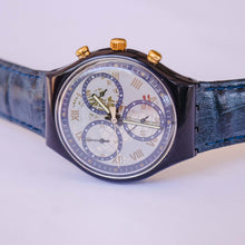 Load image into Gallery viewer, TIMELESS ZONE SCN104 Swatch Watch Chrono | 90s Swiss Chronograph