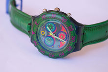 Load image into Gallery viewer, BLUE SKY SBN100 Swatch Watch | 90s Scuba Chronograph Swatch
