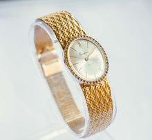 Load image into Gallery viewer, Gold-Tone Geneva 17 Jewels Mechanical Watch | Luxury Ladies Watch