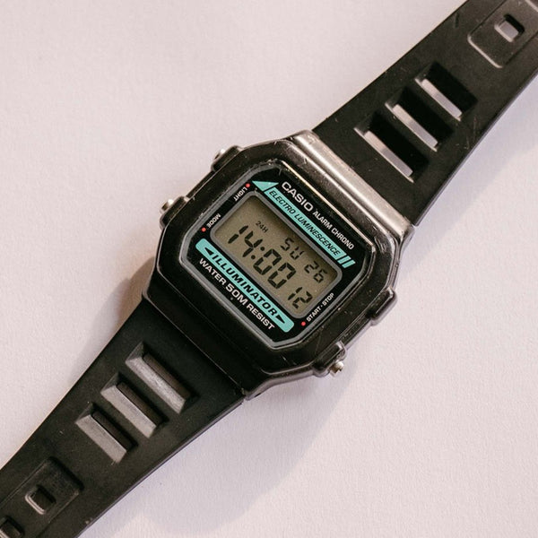 Casio 3298 W-86 Alarme Chrono Electro Luminescence Watch Vintage