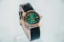 Load image into Gallery viewer, Rare Bolivia Electra 25 Mechanical Men's Watch | Green Dial Watch
