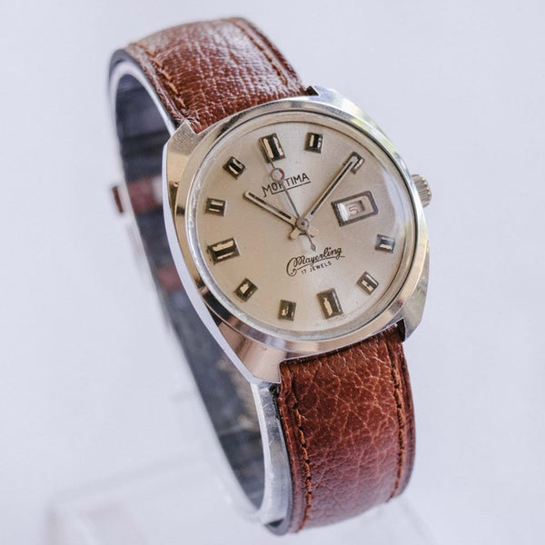 Mortima Mayerling Mechanical Vintage Men's Watch | French Watches