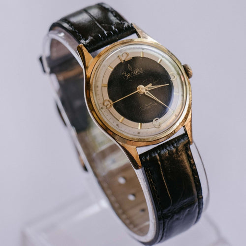 ZentRa 17 Rubis Mechanical Vintage Watch | 1960s German Gold Watch