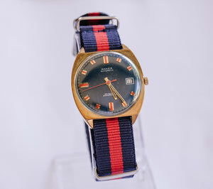 Rare Anker 25 Rubis German Automatic Watch | 70s Luxury German Gold Watch